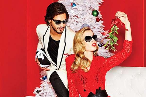 Photo of Подарки под елкой: Джорджия Мэй Джаггер в новогодней рекламе Sunglass Hut