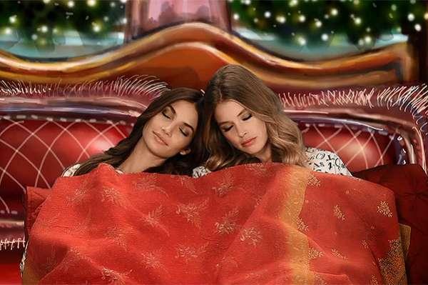 Photo of Ночь перед Рождеством: «ангелы» Victoria's Secret прочитали сказку в новом видео