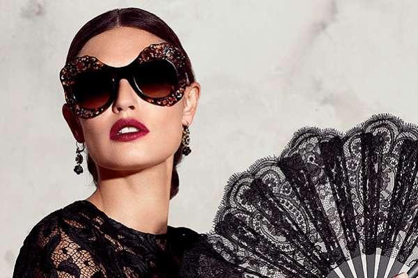 Photo of Бьянка Балти в рекламе весенней коллекции очков Dolce & Gabbana