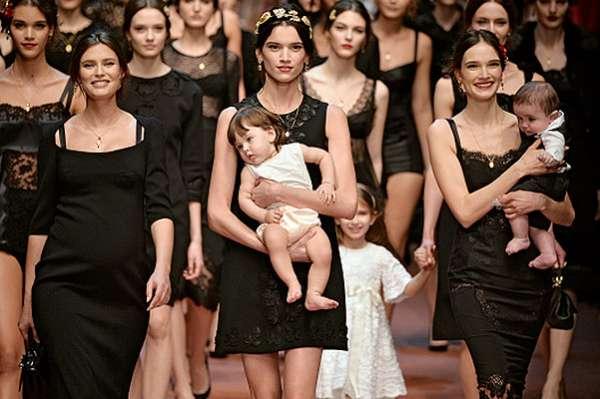 Photo of Неделя моды в Милане: показ Dolce & Gabbana