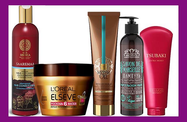 Лучшие средства для сухих волос: шампуни, маски и бальзамы