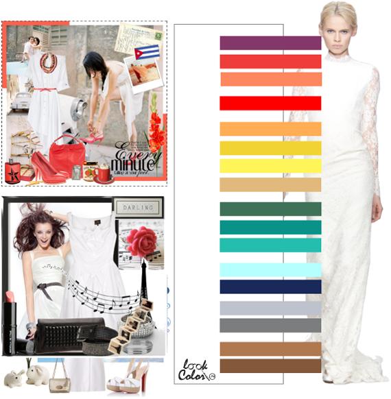 Модные цвета 2011. Белый цвет