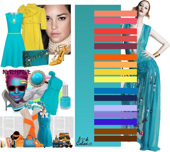 Модные цвета 2011. Бирюзовый цвет