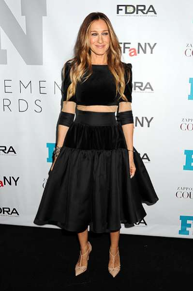 Сара Джессика Паркер и Николь Ричи на Fashion Footwear Awards-2014 4