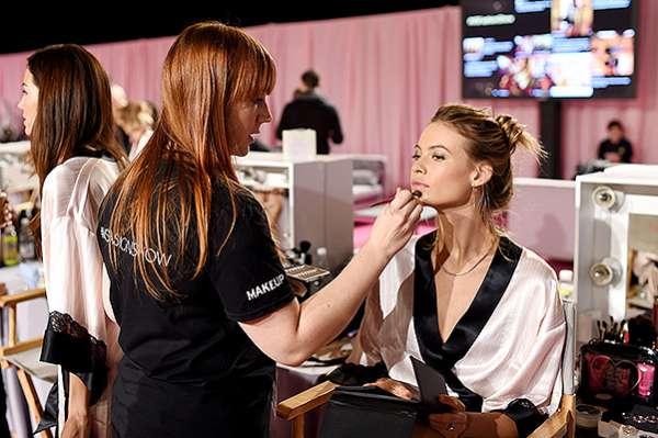 Шоу Victoria's Secret-2014: бэкстейдж 19