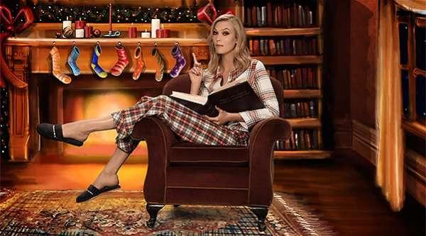 """Ночь перед Рождеством: """"ангелы"""" Victoria's Secret прочитали сказку в новом видео 3"""