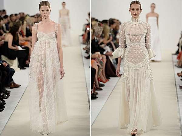 Белым по белому: показ коллекции Valentino в Нью-Йорке 2