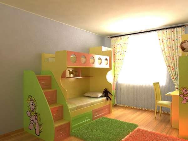 Дизайн детской комнаты — от рождения до совершеннолетия 2