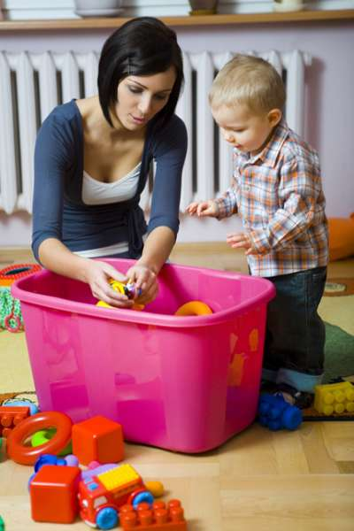 Как приучить ребенка к порядку 6