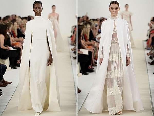 Белым по белому: показ коллекции Valentino в Нью-Йорке 3