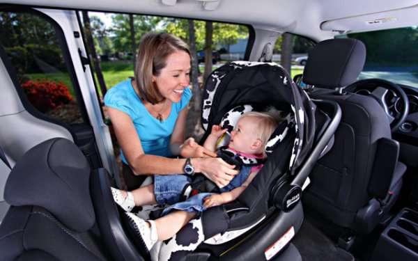 Как перевозить грудного ребенка? 1