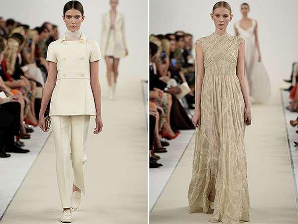 Белым по белому: показ коллекции Valentino в Нью-Йорке 4