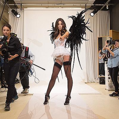 """Лима, Амбросио и другие """"ангелы"""" готовятся к шоу Victoria's Secret-2014 6"""