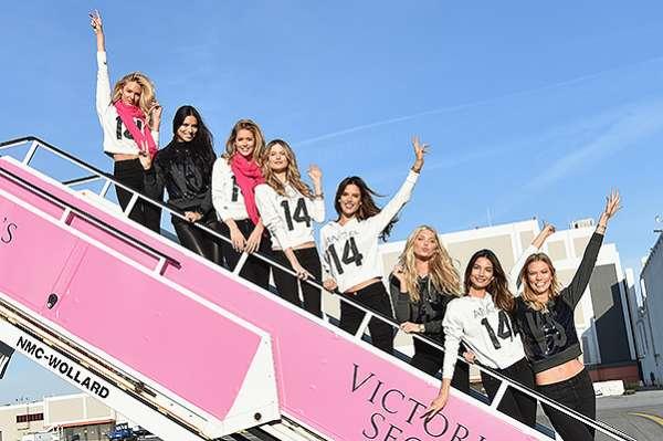 """""""Ангелы"""" Victoria's Secret  вылетели в Лондон 13"""