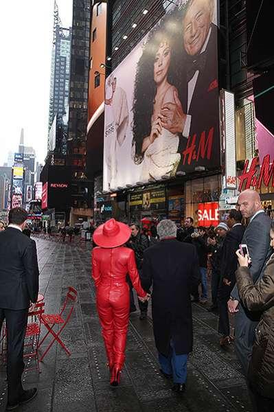 """""""Призрак оперы"""" и джазмен: Леди Гага и Тони Беннетт в Нью-Йорке 6"""