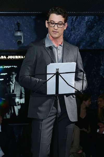 Награждение победителей конкурса Prada Journal в Милане 10