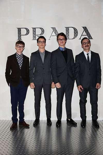 Награждение победителей конкурса Prada Journal в Милане 4