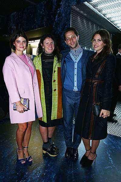 Награждение победителей конкурса Prada Journal в Милане 2