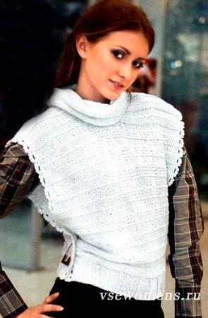 Вязание безрукавки спицами для женщин и мужчин, детей 4