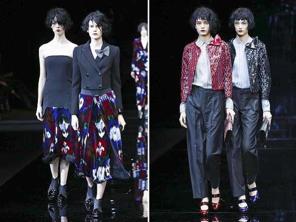 Неделя моды в Милане: показ Emporio Armani 15