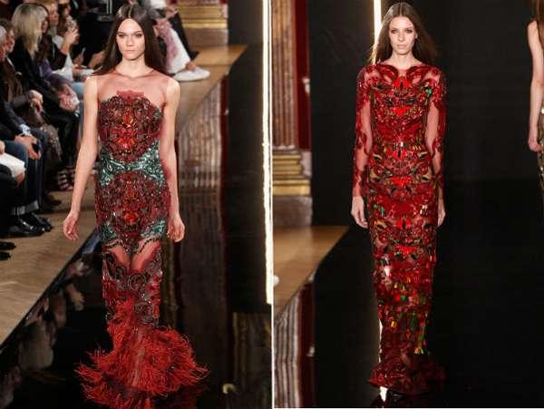 Неделя моды в Париже: показ Valentin Yudashkin 10