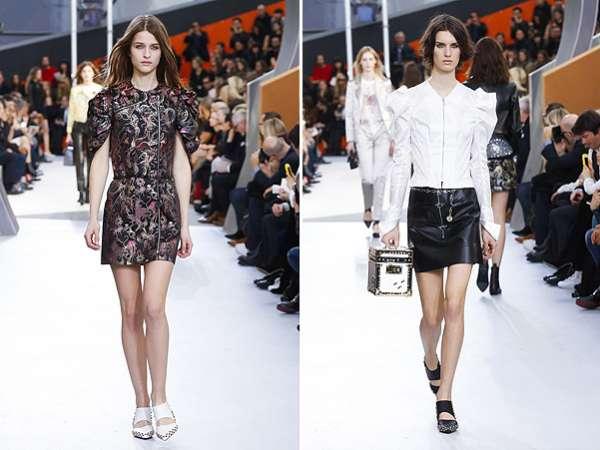 Неделя моды в Париже: показ Louis Vuitton 13