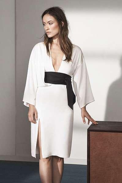 Оливия Уайлд представила эко-коллекцию модного бренда 4