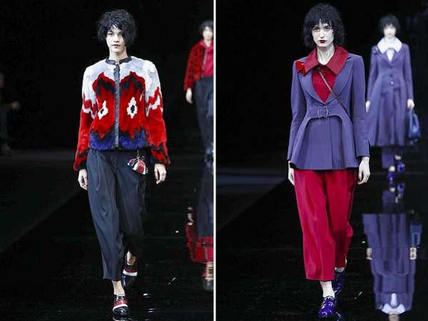 Неделя моды в Милане: показ Emporio Armani 10