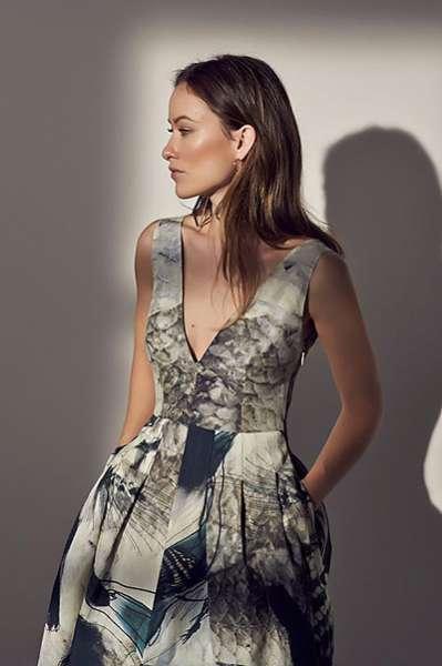 Оливия Уайлд представила эко-коллекцию модного бренда 6