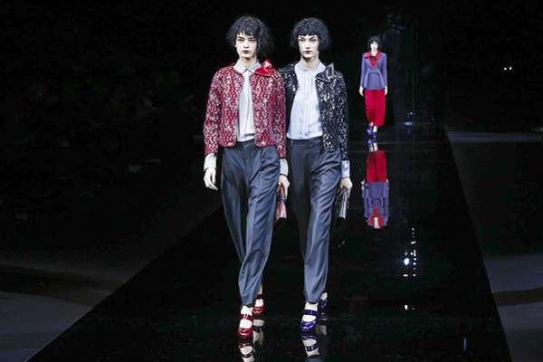 Неделя моды в Милане: показ Emporio Armani 1
