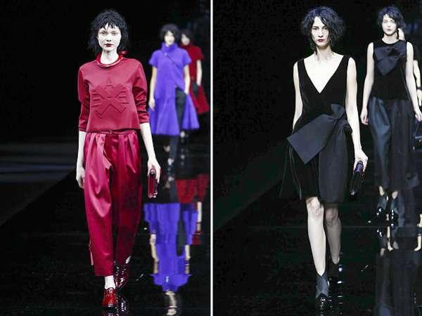 Неделя моды в Милане: показ Emporio Armani 14