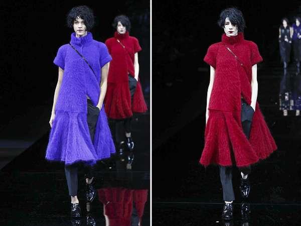 Неделя моды в Милане: показ Emporio Armani 9