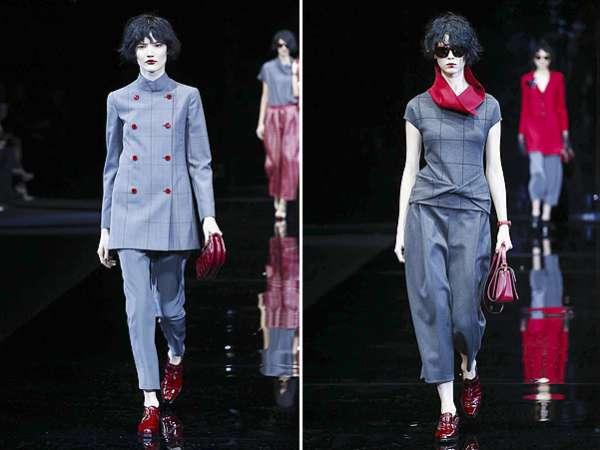 Неделя моды в Милане: показ Emporio Armani 18