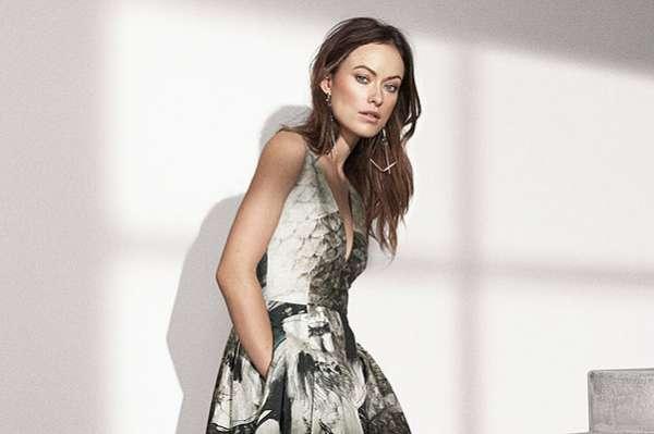 Оливия Уайлд представила эко-коллекцию модного бренда 24