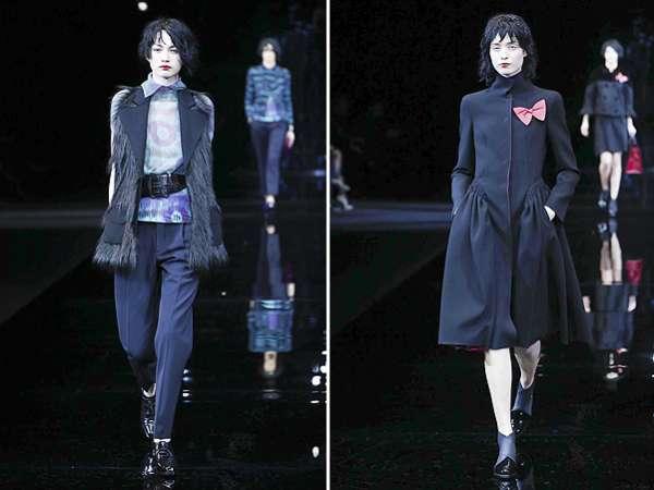 Неделя моды в Милане: показ Emporio Armani 13