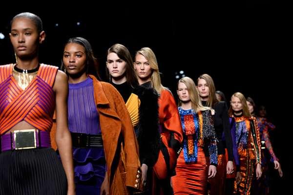 Неделя моды в Париже: показ Balmain 13