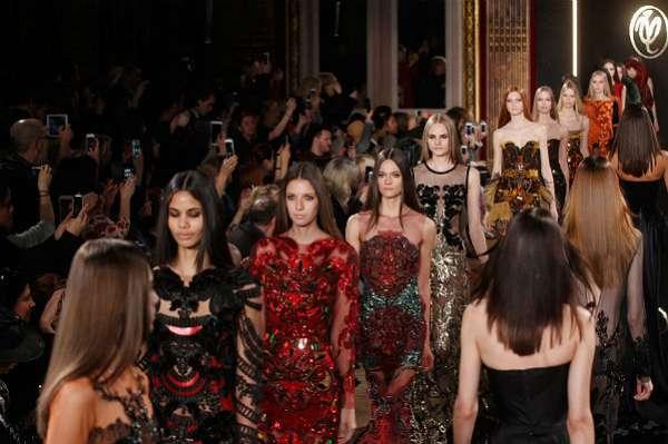 Неделя моды в Париже: показ Valentin Yudashkin 1