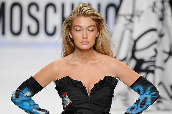 Неделя моды в Милане: показ Moschino 13