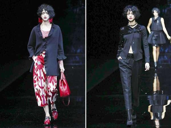 Неделя моды в Милане: показ Emporio Armani 16