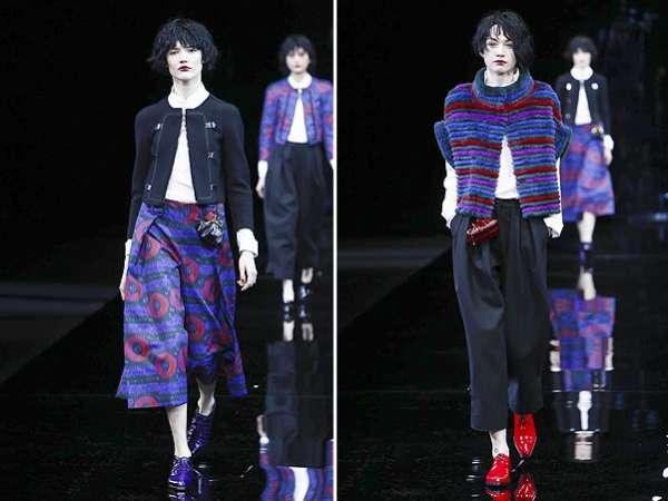 Неделя моды в Милане: показ Emporio Armani 11