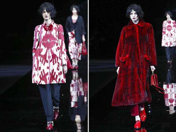 Неделя моды в Милане: показ Emporio Armani 8