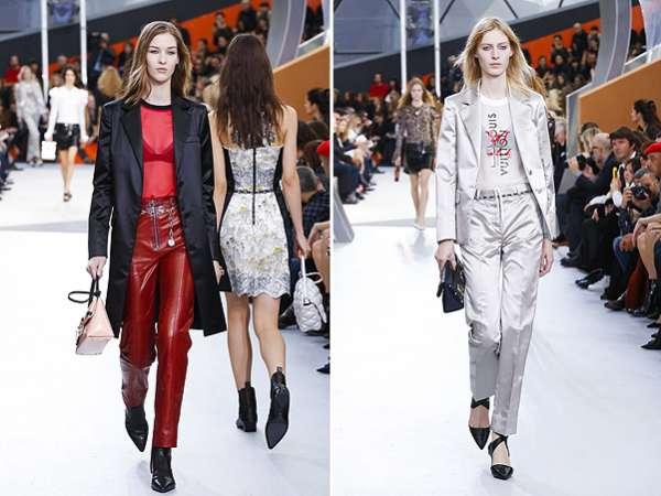 Неделя моды в Париже: показ Louis Vuitton 12