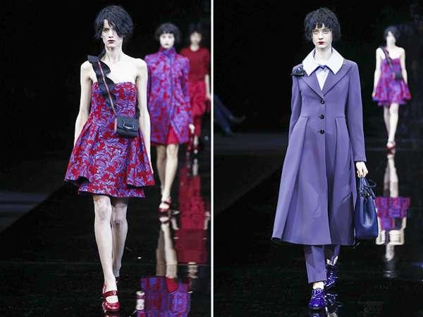 Неделя моды в Милане: показ Emporio Armani 6