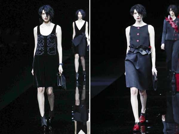 Неделя моды в Милане: показ Emporio Armani 2