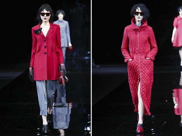 Неделя моды в Милане: показ Emporio Armani 23