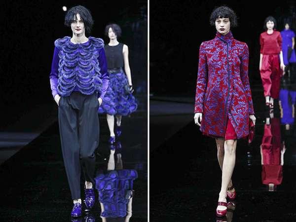 Неделя моды в Милане: показ Emporio Armani 7