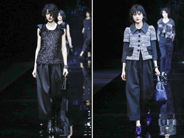 Неделя моды в Милане: показ Emporio Armani 12