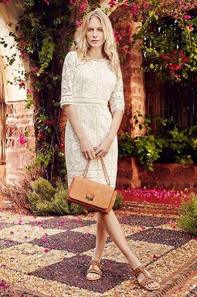 Поппи Дельвинь в рекламной кампании британского бренда 11