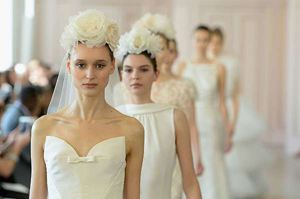 Неделя свадебной моды: Oscar de la Renta, Carolina Herrera и Badgley Mischka 9