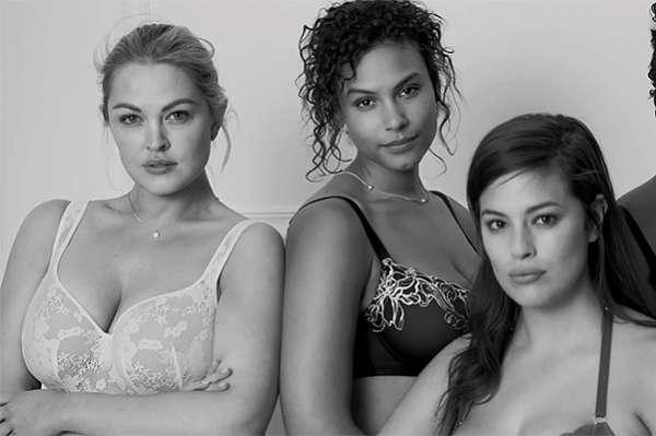 """""""Я не ангел"""": модели plus-size в новой рекламной кампании нижнего белья 18"""